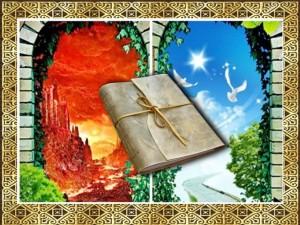 Cehennem Ehlinin Kitapları Hangi Taraflarından Verilecektir?